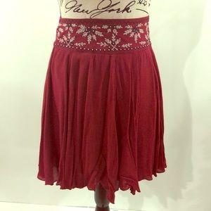Top beaded skirt